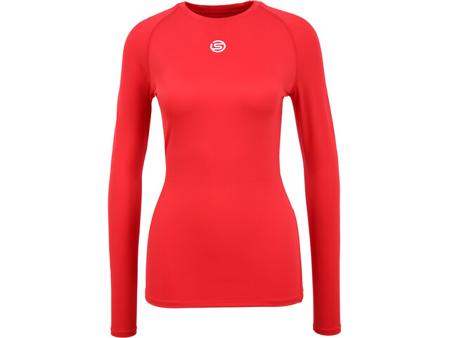 Skins Series-1 LS Top Women, red